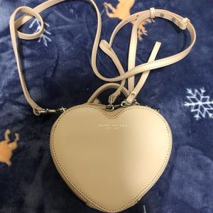 NWOT Marc Jacobs heart bag